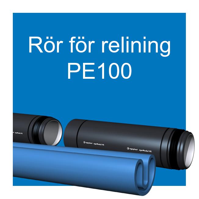 EXTENA rörsystem polyeten för relining