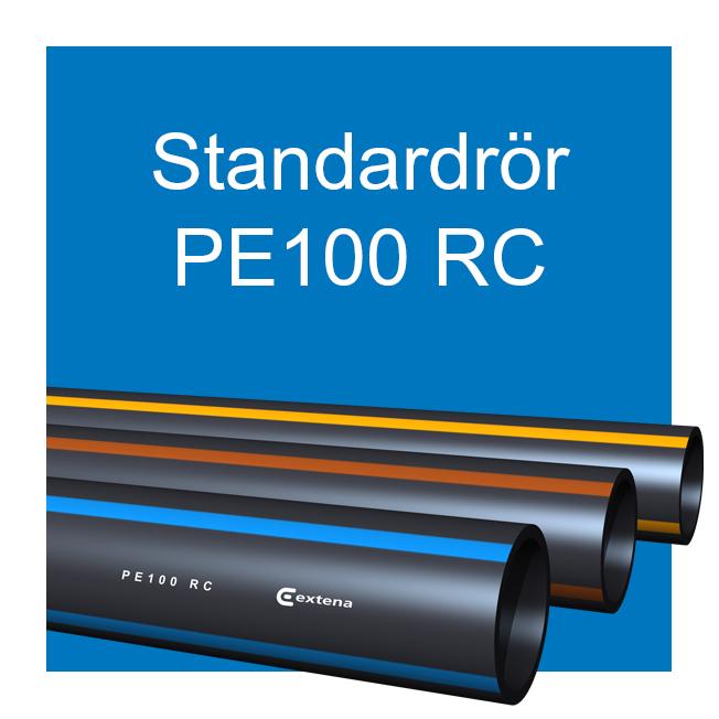 EXTENA tryckrör polyeten PE100 RC standardrör
