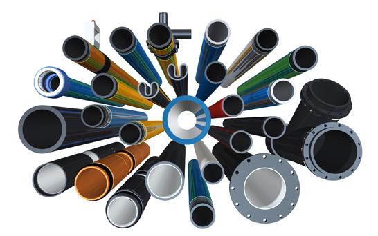 Extena Egeplast marknadens bredaste sortiment tryckrör polyeten