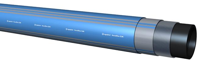 Extena HexelOne högtrycksrör Polyeten för höga tryck