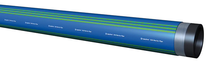 Extena SLA Barrier Pipe diffusionstätt rörsystem Polyeten