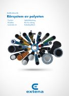Extena produktkatalog 2021 Rörsystem av plyeten PE100 RC Tryckrör